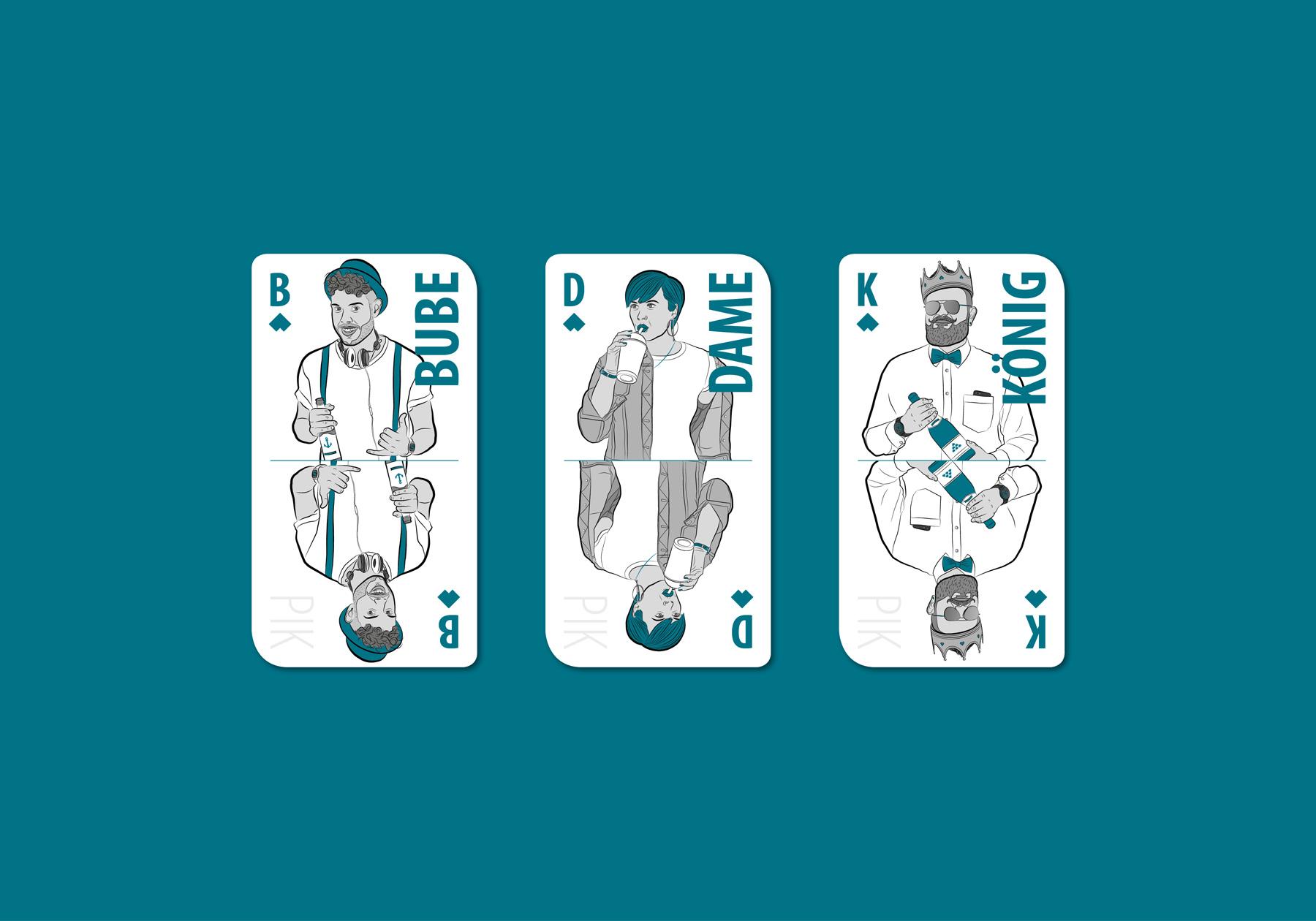 ELCARDO – 55 Moderne Spielkarten
