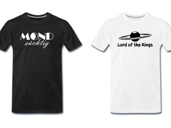 Teaser Shirt-Universum T-Shirt Onlineshop